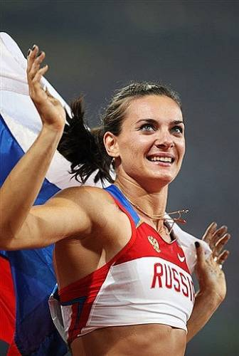 Фотография 1 - Елена Исинбаева - Фото Галерея - RUN for FUN: http://runner.at.ua/photo/9-0-177